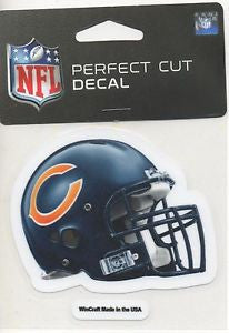 Chicago Bears Wincraft Helmet 4x5 Decal - Dino's Sports Fan Shop
