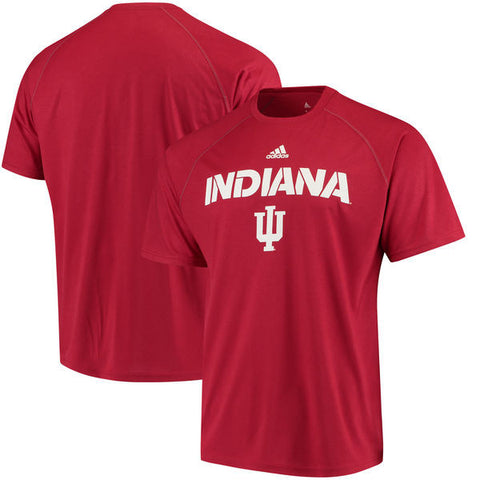 Indiana Hoosiers Adidas Red 2017 Sideline Dri Fit Adult Shirt