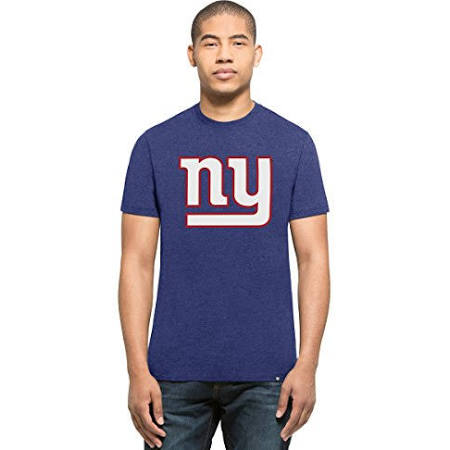 New York Giants '47 Brand Blue Club Tee Adult Shirt
