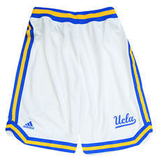 UCLA Bruins Adidas White Replica Youth Shorts