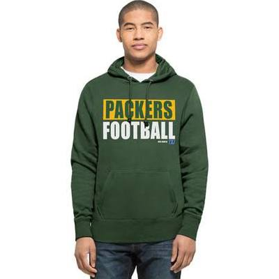 Green Bay Packers '47 Brand Green Headline Adult Hoodie Sweatshirt