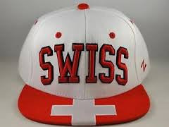 Switzerland Zephyr Superstar Snapback Hat - Dino's Sports Fan Shop