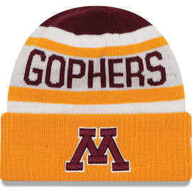 Minnesota Golden Gophers New Era Biggest Fan Adult Knit Winter Hat