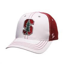 Stanford Cardinal Zephyr Whiteboard Adjustable Hat - Dino's Sports Fan Shop