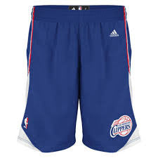 Los Angeles Clippers Youth Replica Home Shorts - Dino's Sports Fan Shop