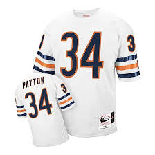 Walter Payton #34 Chicago Bears White Adult Mitchell & Ness Throwback Jersey - Dino's Sports Fan Shop
