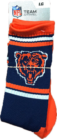 Chicago Bears For Bare Feet Adult Socks