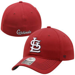St. Louis Cardinals '47 Brand Game Time Closer Stretch Fit Hat - Dino's Sports Fan Shop