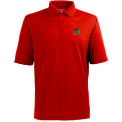 Chicago Blackhawks Antigua Red Adult Polo - Dino's Sports Fan Shop