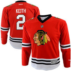 Duncan Keith #2 Chicago Blackhawks Reebok Youth Replica Jersey - Red - Dino's Sports Fan Shop