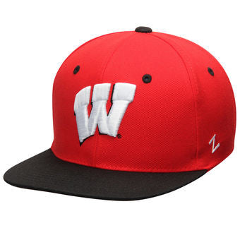 Wisconsin Badgers Zephyr Z11 Original Snapback Hat - Dino's Sports Fan Shop