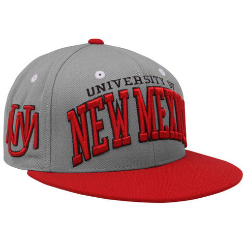 New Mexico Lobos Zephyr Super Star Snapback Hat - Dino's Sports Fan Shop