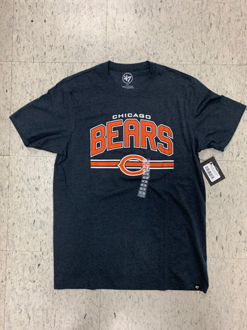 Chicago Bears Adult 47 Brand Orange/Blue Shirt