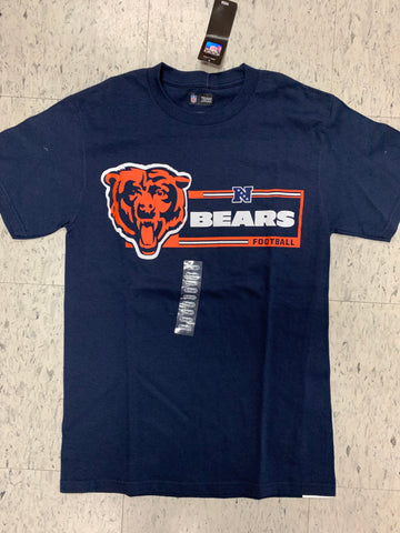 Chicago Bears NFL Football Adult NFL Team Apparel Blue Shirt (S)