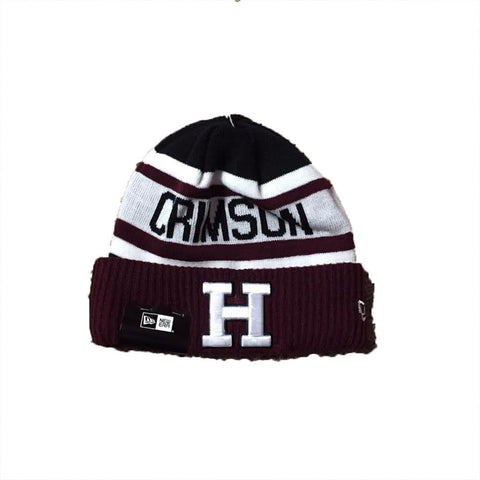 Harvard Crimson New Era Biggest Fan Adult Knit Winter Hat