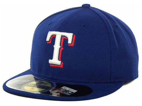Texas Rangers New Era MLB Authentic On Field 59FIFTY Hat - Dino's Sports Fan Shop