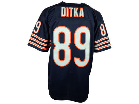 Mike Ditka #89 Chicago Bears Dark Navy Adult Mitchell & Ness Jersey - Dino's Sports Fan Shop