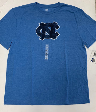 North Carolina Tar Heels Adult Genuine Stuff Blue Shirt (XL)