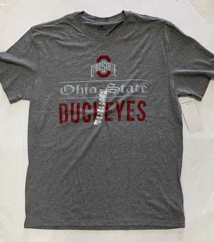 Ohio State Buckeyes Adult Top Of The World Gray Shirt