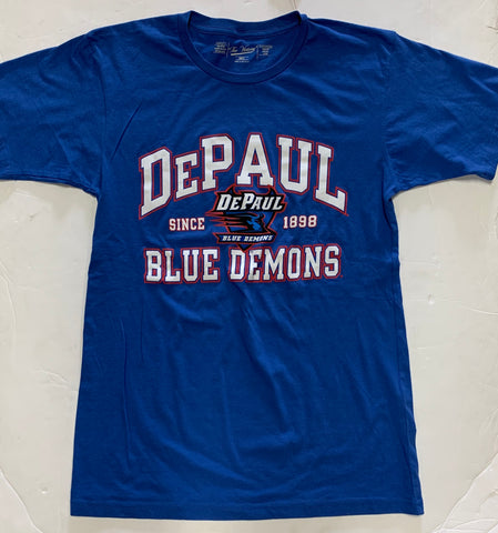DePaul Blue Demons Since 1898 Adult The Victory Blue Shirt
