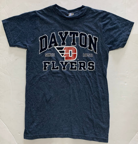 Dayton Flyers Adult Since 1850 The Victory Blue Shirt