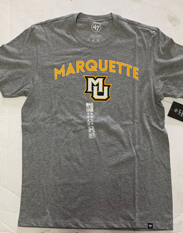 Marquette Golden Eagles Adult 47 Brand Gray Shirt