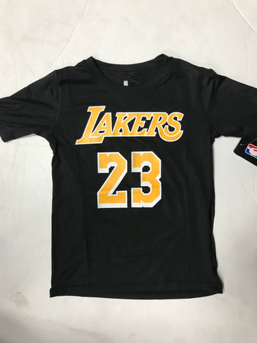pretty nice fe972 3cb29 Los Angeles Lakers Lebron James #23 Youth Black NBA Jersey/Shirt