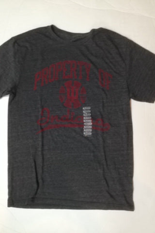 Indiana Hoosiers Adidas Black Basketball Property Shirt - Dino's Sports Fan Shop