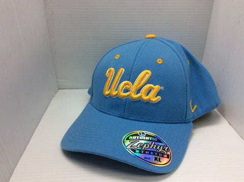 UCLA Bruins Zephyr Authentic Stretch Blue Hat