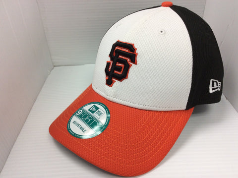 San Francisco Giants New Era 9FORTY Perforated Block Velcro Adjustable Hat