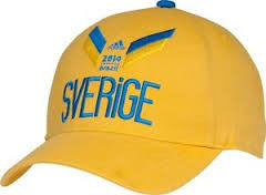 Sweden Sverige Adidas 2014 FIFA World Cup Soccer Adjustable Hat - Dino's Sports Fan Shop