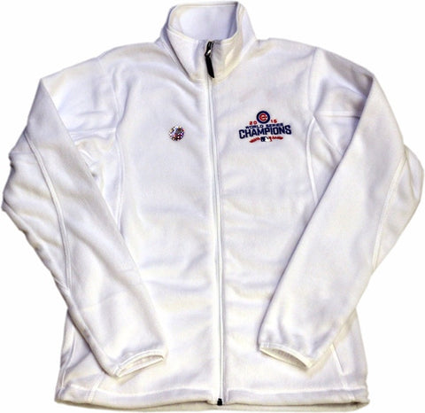 Chicago Cubs Antigua MLB White 2016 World Series Champions Ice Women's Jacket