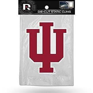 NCAA Indiana Hoosiers Rico Static Cling Decal