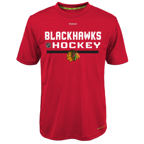 Chicago Blackhawks Reebok Center Ice Youth Shirt - Dino's Sports Fan Shop