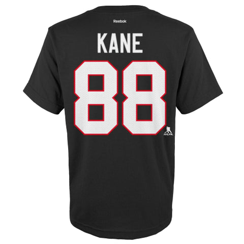 Patrick Kane #88 Chicago Blackhawks Reebok Hi-Def Youth Shirt - Dino's Sports Fan Shop