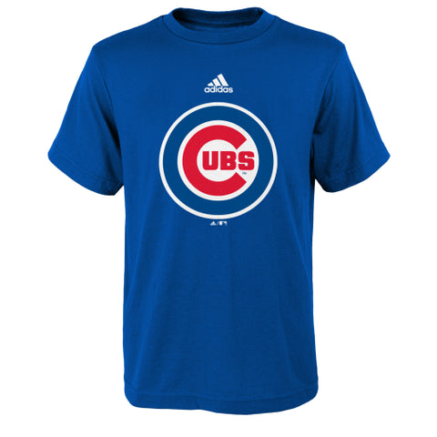 Chicago Cubs Adidas Logo Youth Tee - Dino's Sports Fan Shop