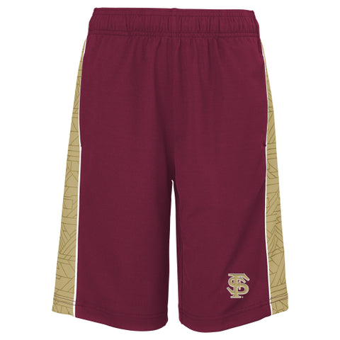Florida State Seminoles Gen 2 Garnet & Gold Youth Mesh Shorts - Dino's Sports Fan Shop