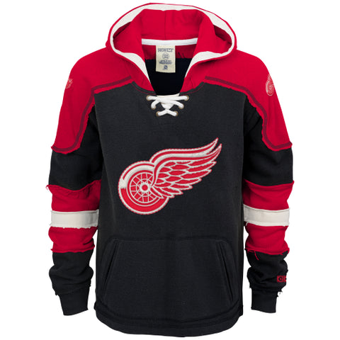 Detroit Red Wings CCM Youth Sweatshirt - Dino's Sports Fan Shop