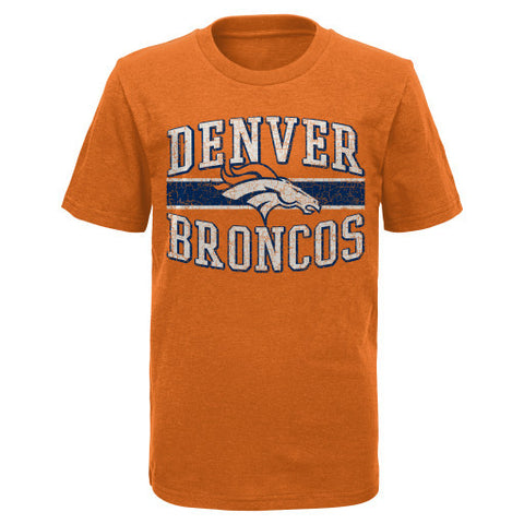 Denver Broncos NFL Youth Orange Shirt - Dino's Sports Fan Shop