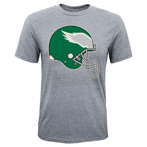 Philadelphia Eagles NFL Gray Vintage Youth Shirt - Dino's Sports Fan Shop