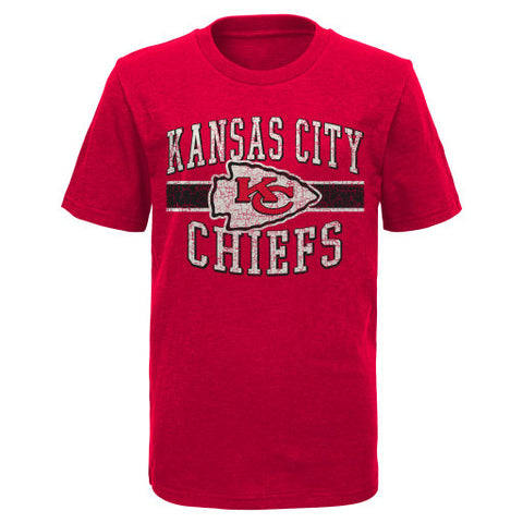 Kansas City Chiefs NFL Youth Red Shirt - Dino's Sports Fan Shop