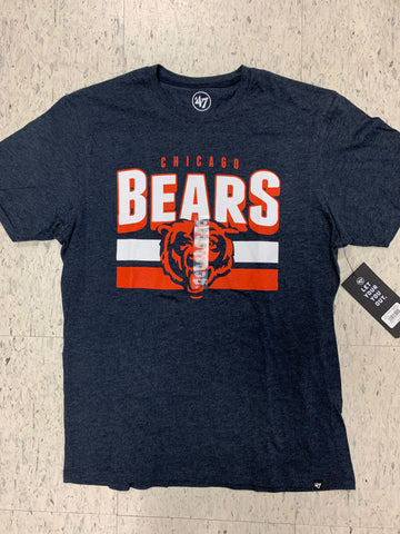 Chicago Bears Adult 47 Brand Blue Shirt