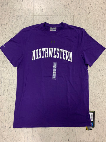 Northwestern Wildcats Adult Under Armour Purple Shirt