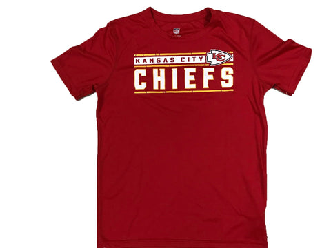 Kansas City Chiefs NFL Red Logo Athletic Youth T shirt