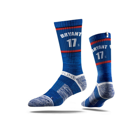 Kris Bryant #17 Strideline Blue Adult Jersey Socks