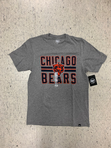 Chicago Bears '47 Brand Slate Adult Grey T-Shirt