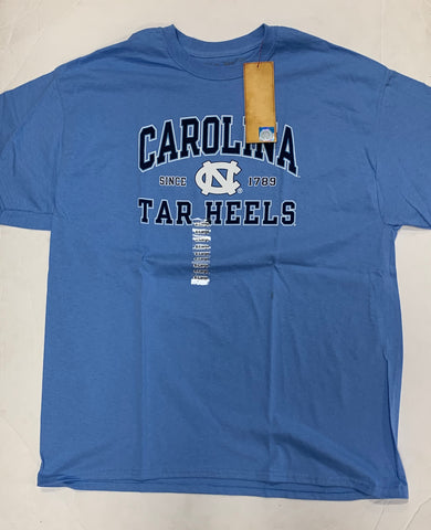 North Carolina Tar Heels Since 1789 Adult The Victory Blue Shirt