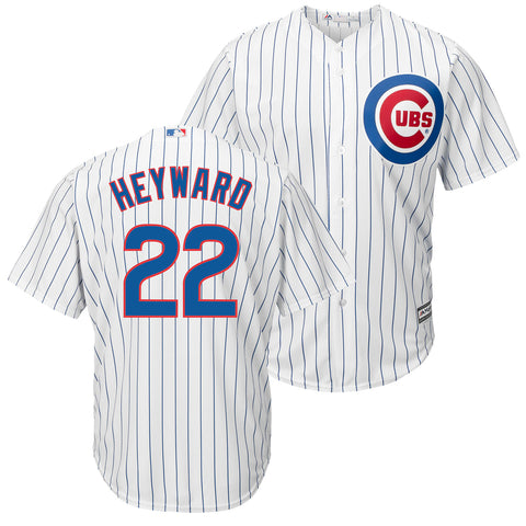 Jason Heyward #22 Chicago Cubs Majestic Youth Home Cool Base Replica Jersey - Dino's Sports Fan Shop