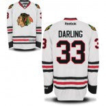Scott Darling #33 Chicago Blackhawks Reebok Road White Premier Jersey - Dino's Sports Fan Shop