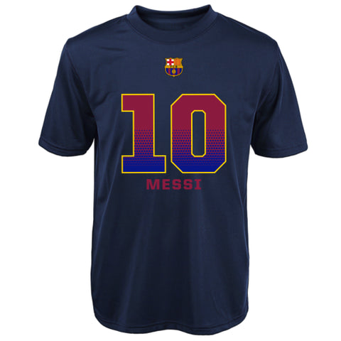 FCB Football Club Barcelona Lionel Messi Adidas Youth Performance Shirt - Dino's Sports Fan Shop